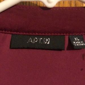 Apt. 9 Tops - Adorable work blouse